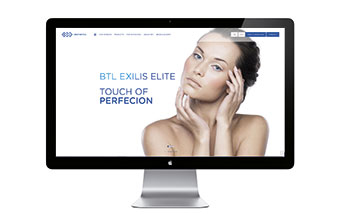 BTL Medical Techique website